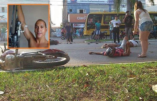 Homem morre em colisão entre motocicletas e corpo é encaminhado a município vizinho por falta de legista