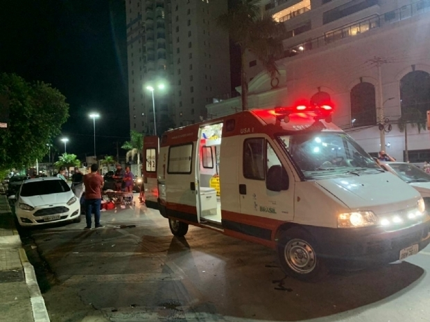 Policial atropelado em frente a shopping já passou por três cirurgias e segue internado