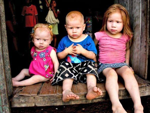 Vanessa, Orlando e a pequena Eleiana, de 5, 3 e 1 são os caçulas de oito filhos do casal Elza